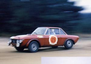 """RAC Rally 1968: Källström/Haggbom - """"noch"""" flott unterwegs (Foto T. Gardiner)"""