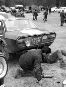 RAC Rally 1968: Schauen Sie auf den Knick unter dem linken hinteren Ausstellfenster