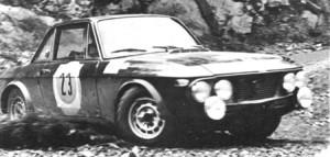 RAC Rally 1968: Pat Moss-Carlsson/Elizabeth Nyström - nach Überschlag ausgeschieden