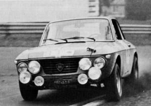 RAC Rally 1968: Aaltonen/Liddon - Zweitschnellste auf dem Rundkurs Ingliston