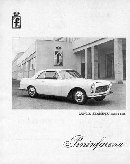 Lancia Flaminia Coupè 4 Porti - Pininfarina