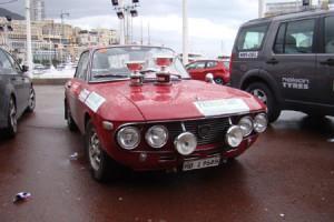 Rallye Monte Carlo Historique 2014: Dort, wo die Erfolgreichen parken ...