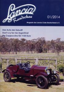 Clubmagazine: Lancia Rundschau 01-2014