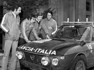Training Rallye Monte Carlo 1972: Munari - Sodano - Lampinen - Mannucci - das Siegesfahrzeug des Marathon de la Route 1969 TO B51447