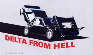 Clubmagazine 2. Halbjahr 2014: Lancia Delta From Hell