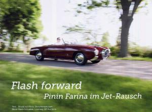 Clubmagazine 2. Halbjahr 2014: Pinin Farina im Jet-Rausch