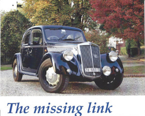Lancia Aprilia V6: The missing link