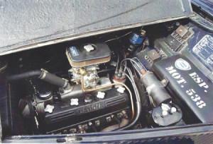 Lancia Aprilia V6: Motor
