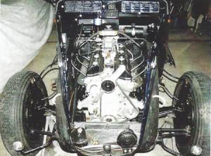 Lancia Aprilia V6: Ohne Motorhaube