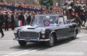 Lancia als Repräsentantenfahrzeug