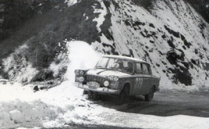 Rallye Monte Carlo 1962: Piero Frescobaldi Flavia Berlina - Platz 9