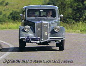XX. Raduno Registro Aprilia: L'Aprilia del 1937