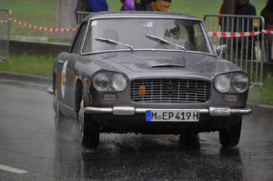 Gaisbergrennen 2014: Lancia 2,8 Flaminia Coupé Touring Baujahr 1964