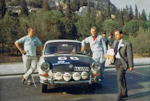 Akropolis Rallye 1966 - Waldegǻrd/Helmer auf VW