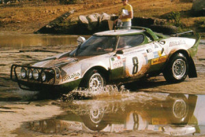 Björn Waldegǻrd bei der East African Safari 1975 - Platz 3