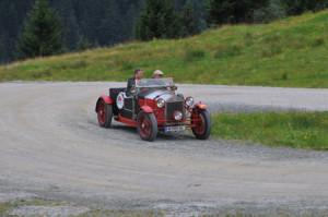 Saalbach Classic 2014: Lancia Lambda Baujahr 1927 - Mille Miglia, Ennstal und und erprobt