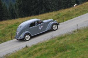 Saalbach Classic 2014: Lancia Aprilia Baujahr 1937 - 2013 Sieger des Gaisbergrennes
