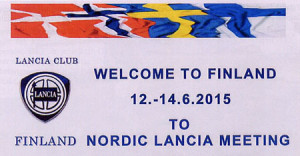 La Lancia Club: Welcome to Finland to the Nordic Lancia Meeting