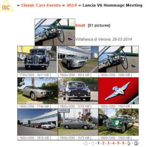 Lancia Aurelia und Flaminia Meeting 2014