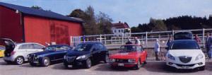 La Lancia Nr. 120: Keine Berührungsängste historische und aktuelle Lancia