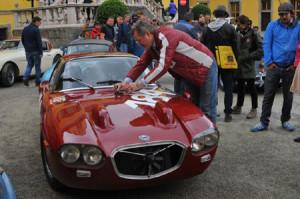 Lancianews Jahresrückblick 2014: Gaisbergrennen 2014 - Der wiederaufserstandene Flavia-Prototyp aus 1964