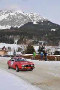 Winterspaß für die Gäste aus Frankreich
