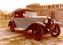 Registro Italiano Lancia Lambda - Foto von seitlich vorne