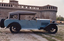 Registro Italiano Lancia Lambda - Foto von der Seite