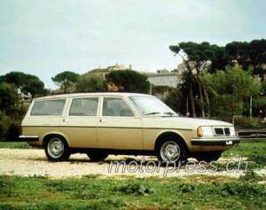 Lancia Auch an einen praktischen Familienkombi wurde gedacht, er blieb aber ein Einzelstück: