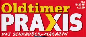 Oldtimer Praxis 05-2015: Logo des Magazins