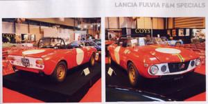Lancia Fulvia F&M Specials