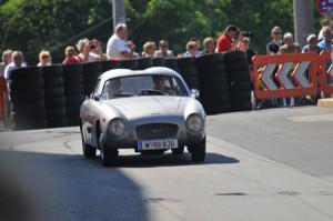 Bei der Mille Miglia noch ins Ziel gekommen, aber in Salzburg ...