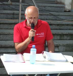 20. Viva Italia: Fachkundige Erklärungen für das Publikum in Eggenburg - Hr. Manfred Palmberger