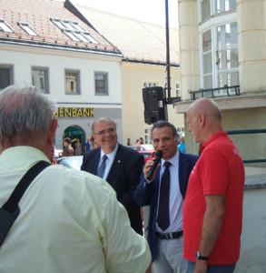 """20. Viva Italia: Hoher Gast aus dem """"Mutterland"""": der italienische Botschafter Marrapodi"""