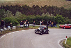 Mille Miglia 2002: Aprilia 1st series: the perfect pre-war berlina