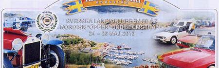 Sommergrüße aus dem Norden vom Svenska Lanciaklubben
