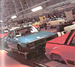 Produktion bei Pininfarina