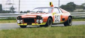 2. Platz beim Giro 1974, als Stratos Killer gedacht, derzeit in Belgien zuhause, V6 mit Kompressor, Basis für den Montecarlo