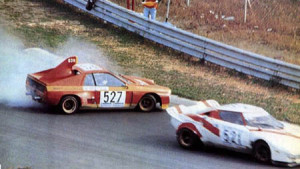 Tollkühne Fahrweise konnte gegen den Stratos Turbo nicht helfen, dem war kein Kraut gewachsen