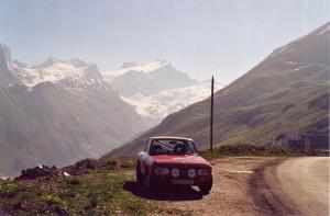 Coupe des Alpes 2002 - hoch oben in der dünnen Luft