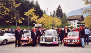 Alpenfahrt Classic Rallye 2002 - Das Castrol Team