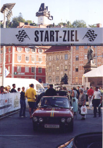 Tour de Charme 2003 - Rathausplatz in Graz