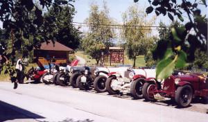 Tour de Charme 2003 - Mittagspause in der Südsteiermark