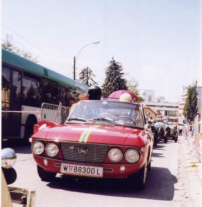 Tour de Charme 2003 - Vorauswagen auf die Ries