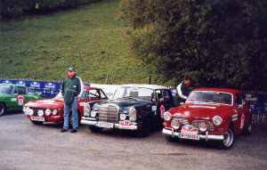 Alpenfahrt Classic Rallye 2003 - Das Castrol-Team
