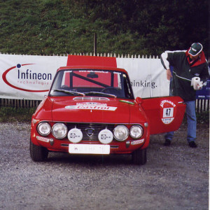 Alpenfahrt Classic Rallye 2003 - Helmut Neverlas Fulvia 1,6 HF