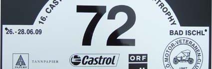 Kaiserwetter mit kleinen Trübungen – die Castrol Sportwagen Alpentrophy 2009