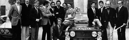 Lancia-Söldner in Turin