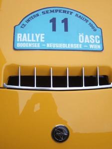 Zusammentreffen nach 41 Jahren - Matra und Rallyetafel 1969
