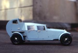 Modell vom Lambda-Konzept von Adolf Loos